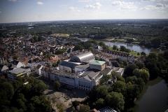 Bremen, Goethe Theater, drohne bremen