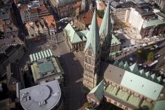 Bremer Dom, drohne bremen