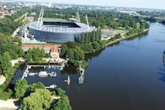 Weserstadion Bremen, drohne bremen