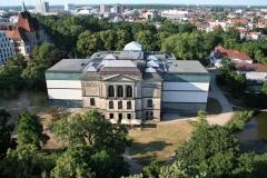 Kunsthalle Bremen, drohne bremen
