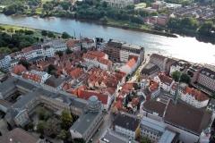 Schnoor Bremen, drohne bremen